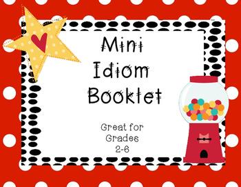 Idiom Mini Book