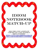 Idiom Notebook Match Up