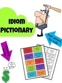 Idiom Pictionary or Charades Set with 70 Different Cards
