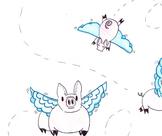 Idiom - Pigs Fly