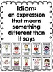 Idiom Posters #1 Color, Black and White | 4 sizes |