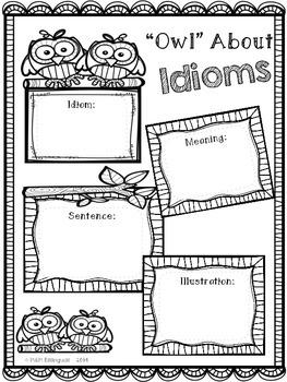 Idiom Posters {FREEBIE}