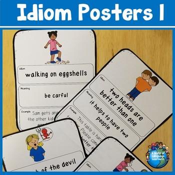 Idiom Posters Set 1