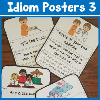 Idiom Poster Teaching Resources Teachers Pay Teachers