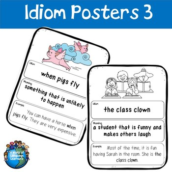 Idiom Posters 3