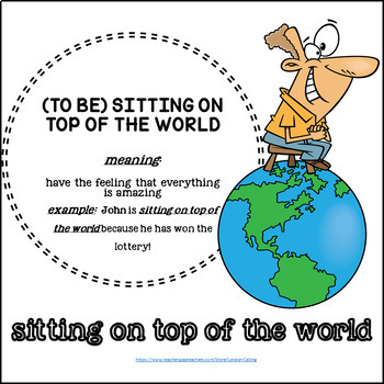 Idiom Posters - for ESL / EFL students