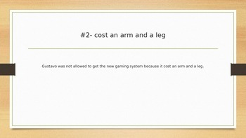 Idiom Power Point Game