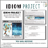 Idiom Project - Illustrating Figurative vs. Literal Meanings
