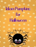 Idiom Pumpkins for Halloween