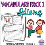Idiom Resource Pack 1 - Vocabulary Activities/Back to Scho