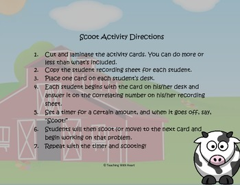 Idiom Scoot Activity/Task Cards 2