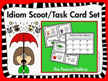 Idiom Scoot/Task Card Set