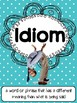 Idiom  Picture & Definitions Sort  (CCSS)