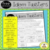 Idiom Speech Therapy for Mixed Groups with Articulation Go