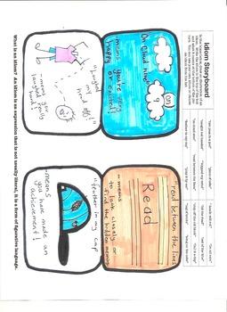 Idiom Storyboard