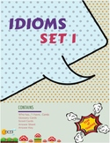 Idiom Task Cards (36 Cards) x 3 Set 1