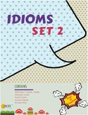 Idiom Task Cards (36 Cards) x 3 Set 2