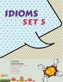 Idiom Task Cards (36 Cards) x 3 Set 5