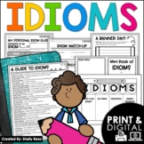 Idioms Worksheets, Foldables, Student Guide, and Activities