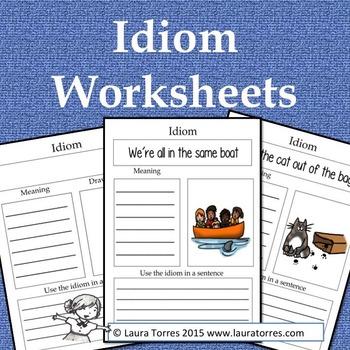 Idiom Worksheets
