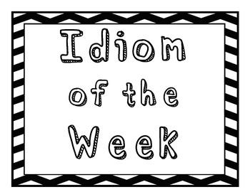 Idiom a Week