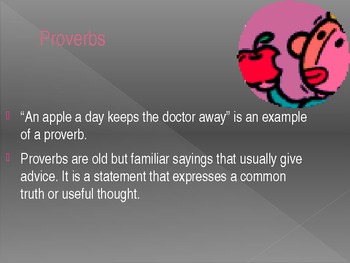 Idiom and Proverb Powerpoint