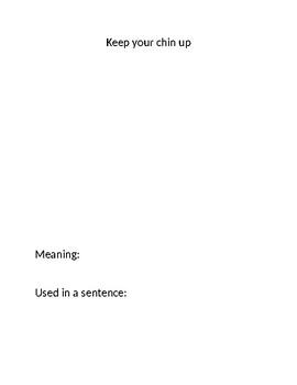 Idiom class book