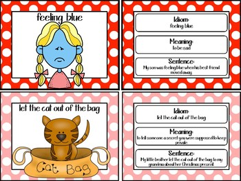 Idiom of the Day (Posters-Daily Work-Assessment) Morning Work