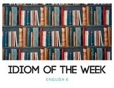 Idiom of the Week (Books)