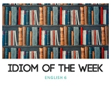 Idiom of the Week (Books)