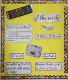 Idiom of the Week - Bulletin Board