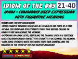 Idiom-of-the-day - version 2 (21-40)