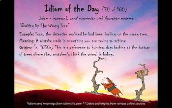 Idiom-of-the-day - version 9 (161-180)