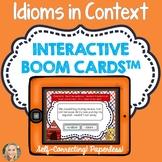 Idiom or Not an Idiom, Boom Cards™, Figurative Language, R
