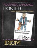 Figurative language poster: Idiom
