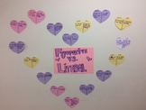 Figurative   literal  Valentine's day wall