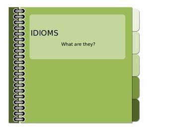 Idioms #1  PPT