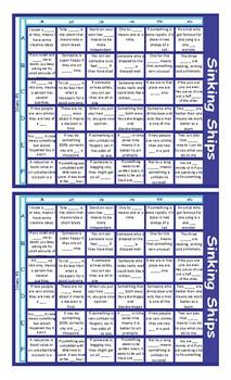 Idioms #1 Battleship Board Game