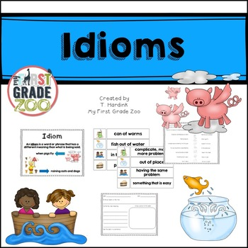 Idioms- Activities and Printables