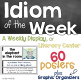 Idiom of the Week Posters and Activities
