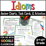 Idioms Task Cards and Activities