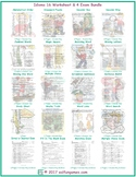 Idioms 16 Worksheet- 4 Exam Bundle