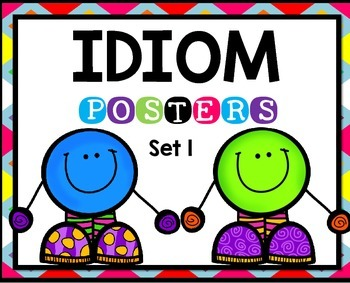 Idioms Posters