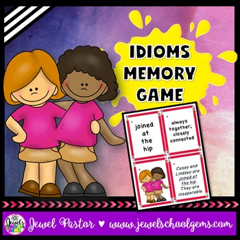Idioms Activities (Idioms Game)