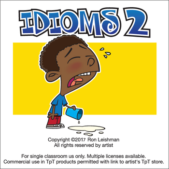 Idioms 2 Cartoon Clipart