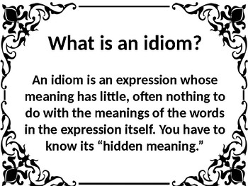 Idioms 2 - Don't lose Your Head Over Them!