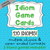 Idioms Task Cards For Test Prep