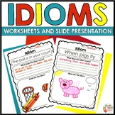 IDIOMS  -  PowerPoint and Idiom Printables