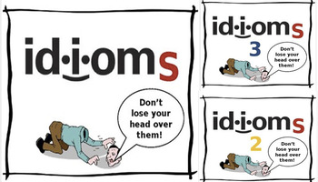 Idioms - 3 Pack Bundle! (Game for ESL Learners)