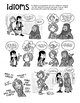 Idioms Comic With Activities